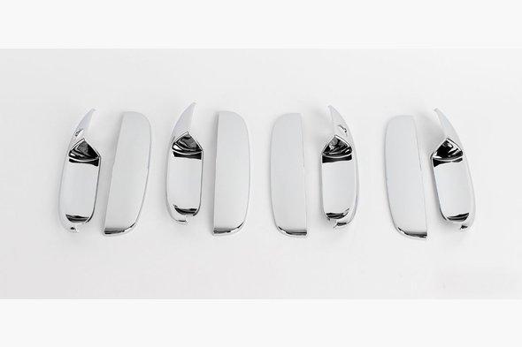 Накладки на ручки (4 шт) Chevrolet Lanos