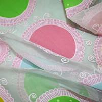 Органза агата молочный/розовый/зеленый/желтый/голубой