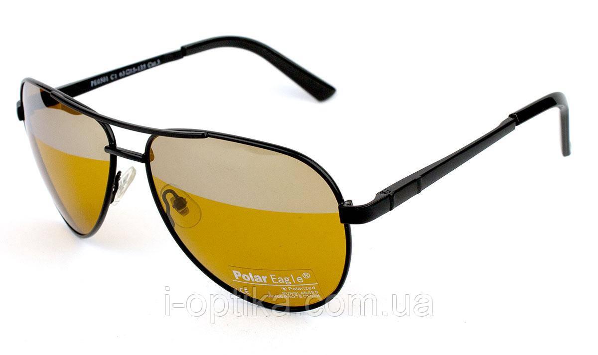 Антибликовые водительские очки Polar Eagle