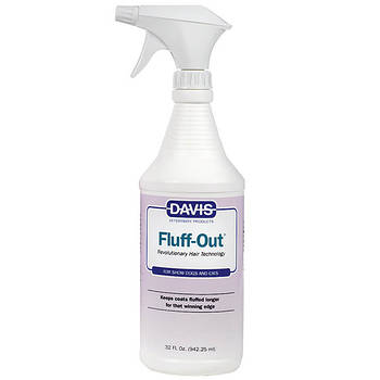Спрей Davis Fluff Out средство для укладки шерсти собак и котов, 0,946 л
