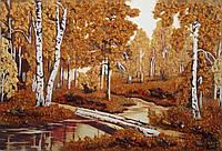 Картина из янтаря. Пейзаж 30