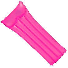 Матрас надувной пляжный( розовый )Intex 183*76 см