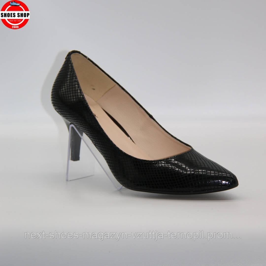 Жіночі туфлі EMBIS (Польща) чорного кольору. Дуже красиві та зручні. Стиль: Natalie Emmanuel