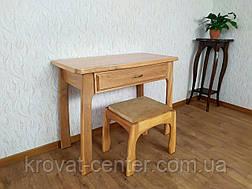 """Туалетний столик з пуфом з масиву дерева від виробника """"Для королеви"""", фото 2"""