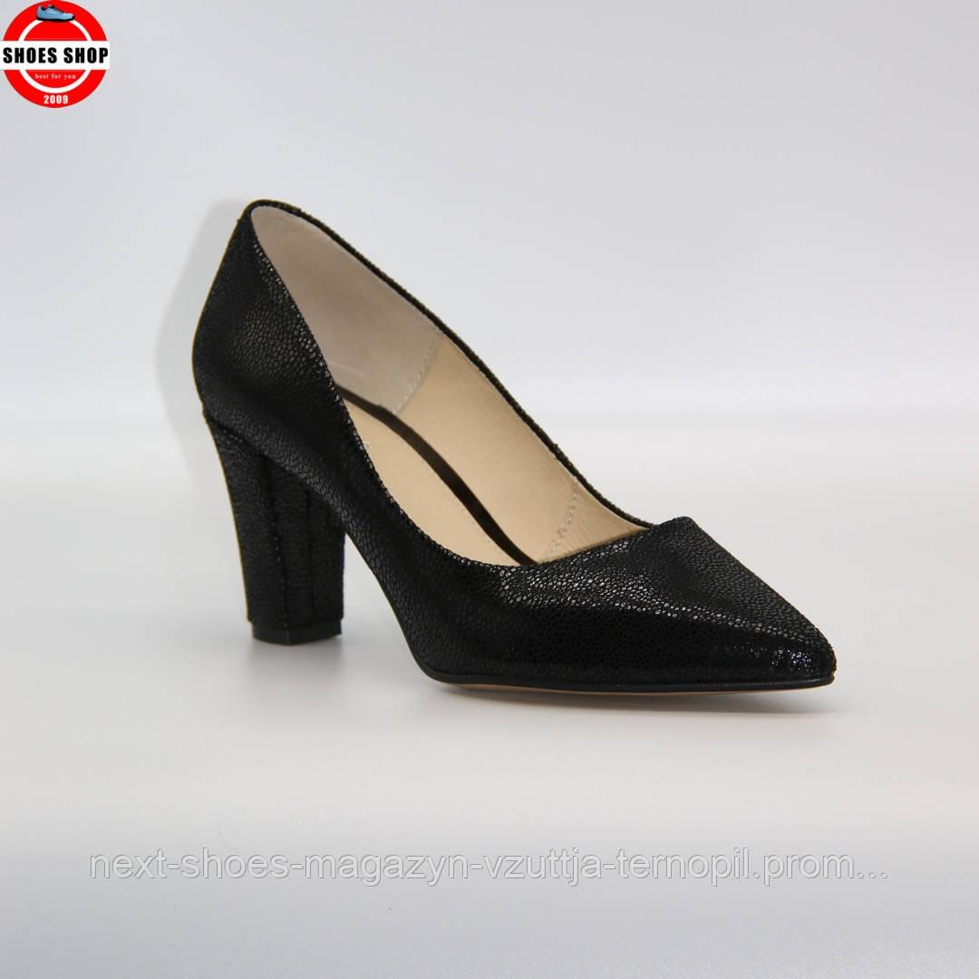Жіночі туфлі Marco (Польща) чорного кольору. Дуже красиві та зручні. Стиль: Natalie Emmanuel