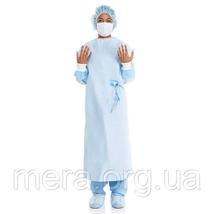 Халат хирургический, стерильный, рукав с манжетой, фото 2