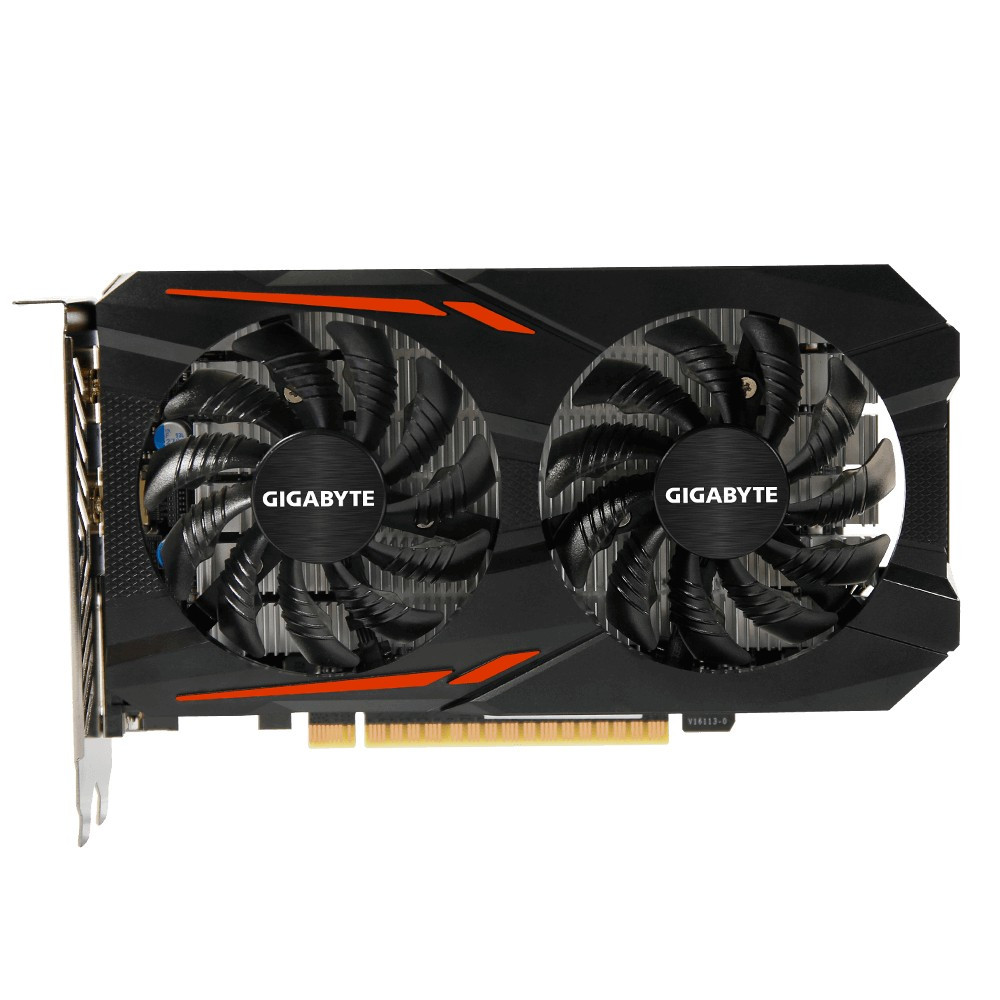 "Видеокарта GIGABYTE GeForce GTX 1050 OC 3G (GV-N1050OC-3GD) ""Over-Stock"" Б/У"