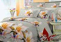 Комплект постельного белья Евро поликоттон TAG HL180