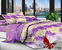 Комплект постельного белья  двуспальный TAG поликоттон XHY1789