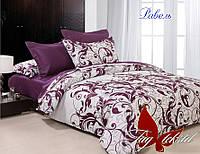 Комплект постельного белья двуспальный хлопок 100% Ранфорс TAG Равель с компаньоном