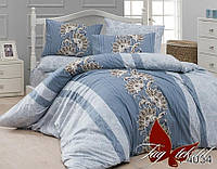 Комплект постельного белья двуспальный хлопок 100% Ранфорс TAG R4034