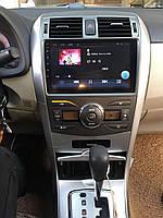 """Штатная Магнитола Toyota Corolla 2007-2013 на Android 8.1  Тойота Рав 4 с Экраном 9"""" Память 2/32"""