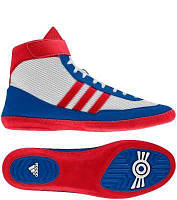 БОРЦОВКИ ADIDAS COMBAT SPEED 4 WHITE/BLUE/RED