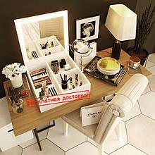 """Комод для косметики с зеркалом """"Amarant 01"""""""