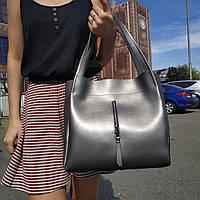 """Женская повседневная сумка """"Синтия Silver Gray"""", фото 1"""