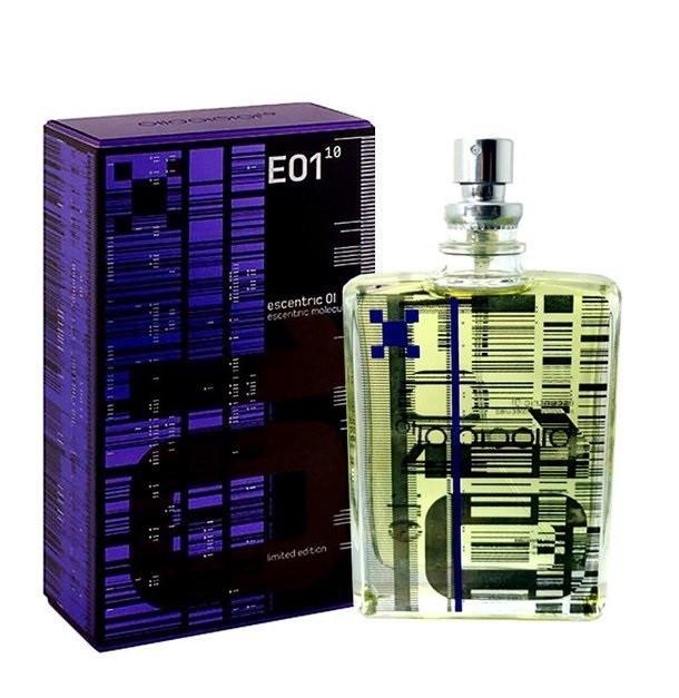 Тестер унисекс Escentric Molecules E01 Limited Edition, 100 мл