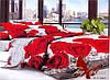 Комплект постельного белья Евро поликоттон TAG XHY891