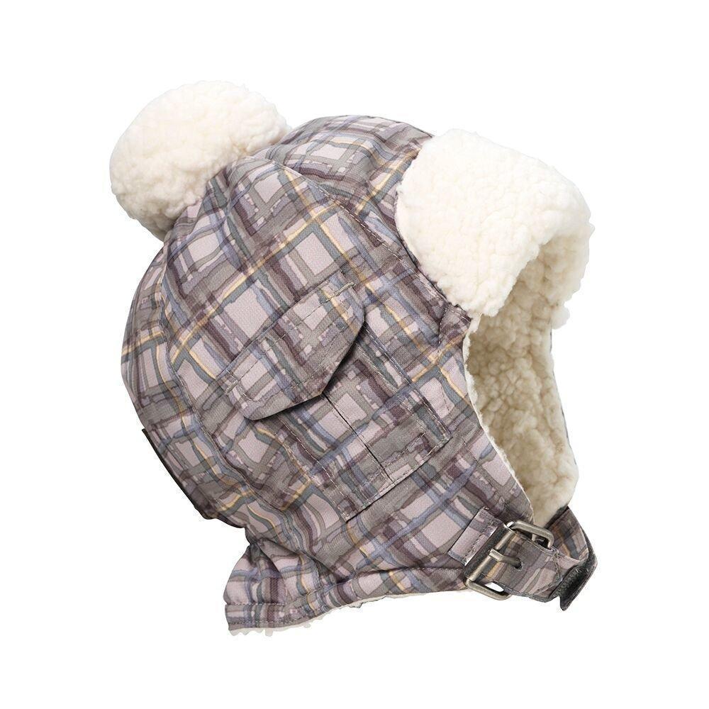 Elodie Details - Детская зимняя шапка Paris Check, 0-6 m