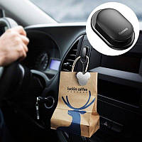 Вешалка держатель для ключей и прочей мелочевки 4 шт Baseus Shell Vehicle Hook для авто и дома (ACGGBK-01)