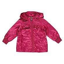 Детская ветровка для девочки Одежда для девочек 0-2 BRUMS Италия 141BEAA001 Красный весенняя осенняя