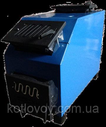 Твердотопливный котел Огонек КОТВ-ДГ (длительного горения), фото 2