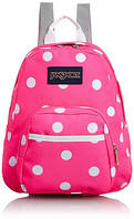 Маленький рюкзак JanSport Half Pint Backpack Fluorescent Pink Spots
