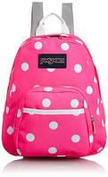 Маленький рюкзак JanSport Half Pint Backpack Fluorescent Pink Spots