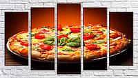 "Модульная картина на холсте ""Пицца 2"""
