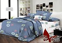 Полуторный комплект постельного белья ранфорс TAG R2037-2