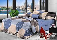 Комплект постельного белья двуспальный хлопок 100% Ранфорс TAG R2989