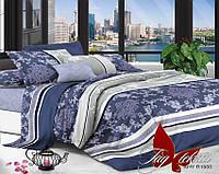 Комплект постельного белья семейный с 2-мя пододеяльниками Поликоттон TAG XHY1988