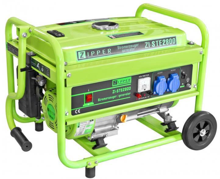 Бензиновий генератор Zipper ZI-STE2800