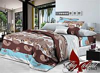 Комплект постельного белья  двуспальный TAG поликоттон XHY2843