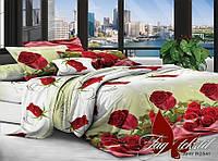 Комплект постельного белья Евро поликоттон TAG XHY2841