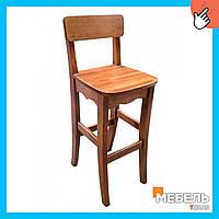 Барный деревянный стул «Барний» от производителя, стул, стул для кафе, стул для ресторана, стул для бара