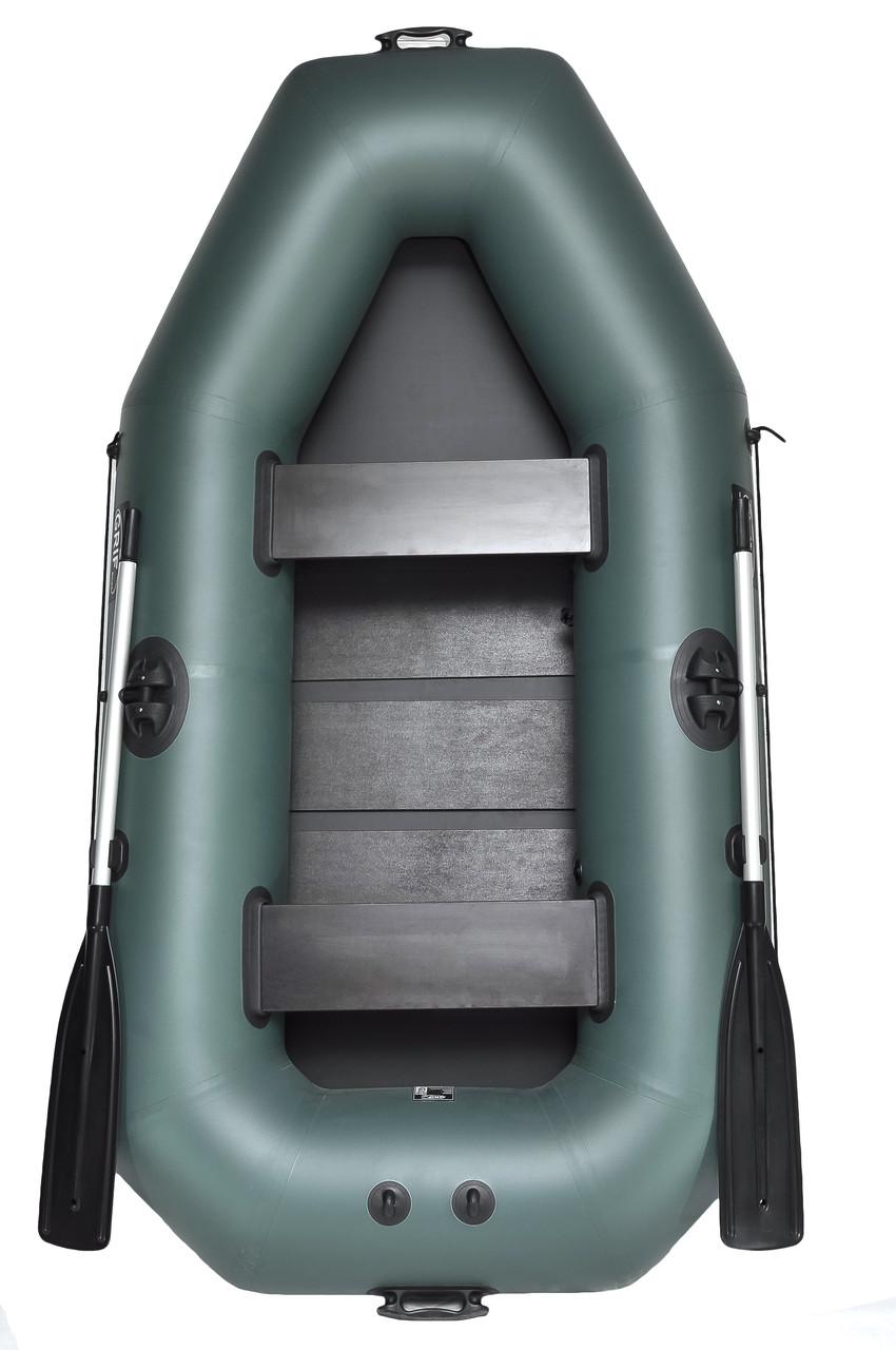 Лодка двухместная надувная пвх Grif boat GK-250