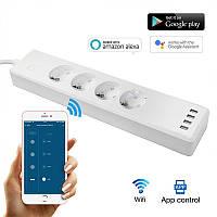 Умный Wi-Fi удлинитель Tuya smart