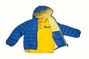 Детская куртка для мальчика BIMBUS Италия 161IDAA004 Синий