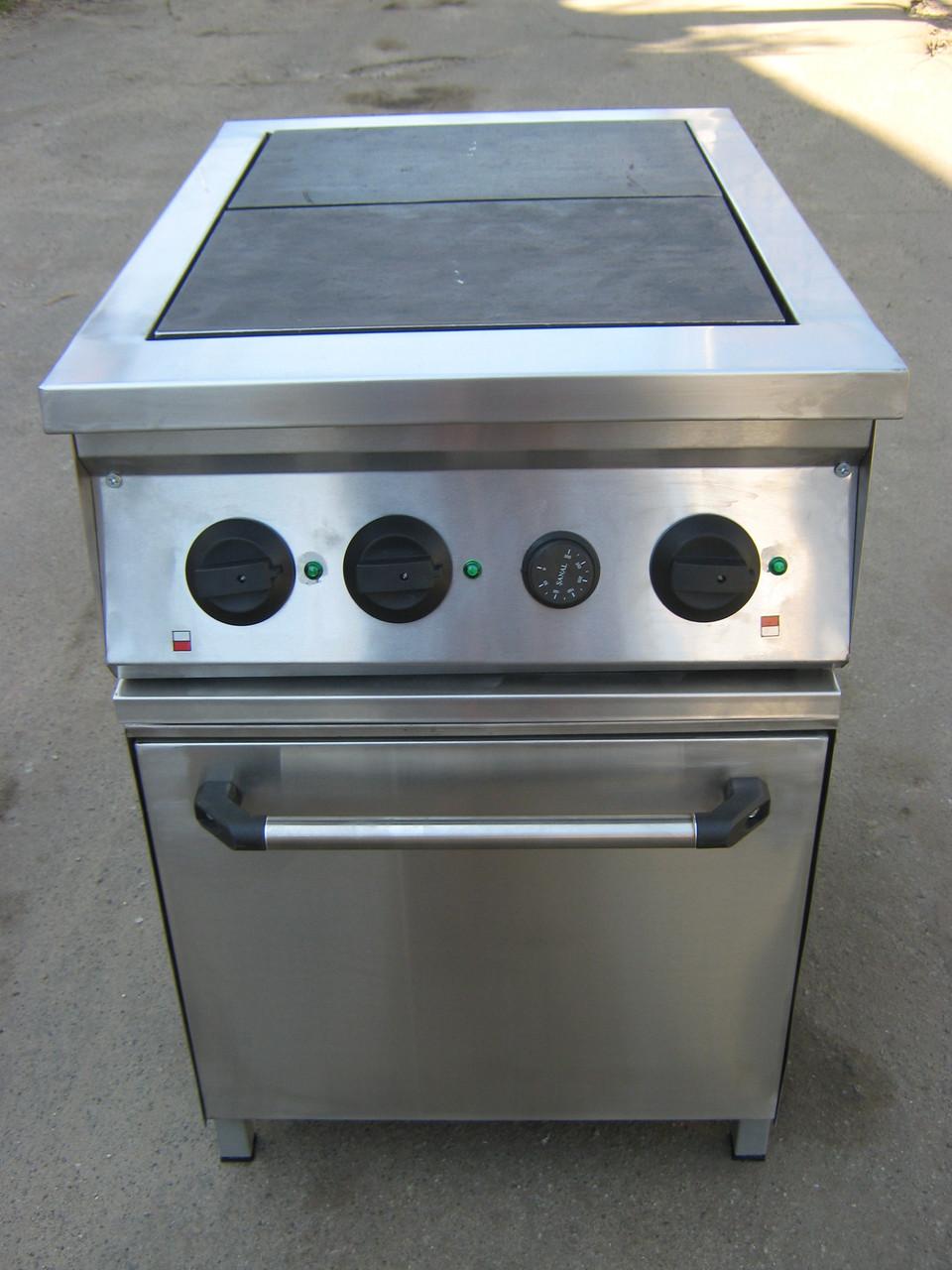 Плита электрическая промышленная 2-х конф. с духовкой
