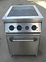 Плита электрическая промышленная 2-х конф. с духовкой, фото 1
