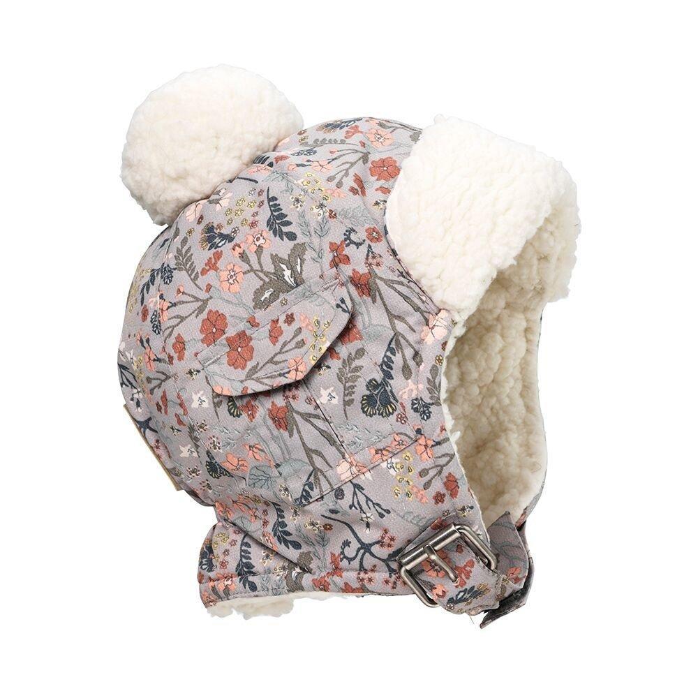 Elodie Details - Детская зимняя шапка Vintage Flower, 1-2 года