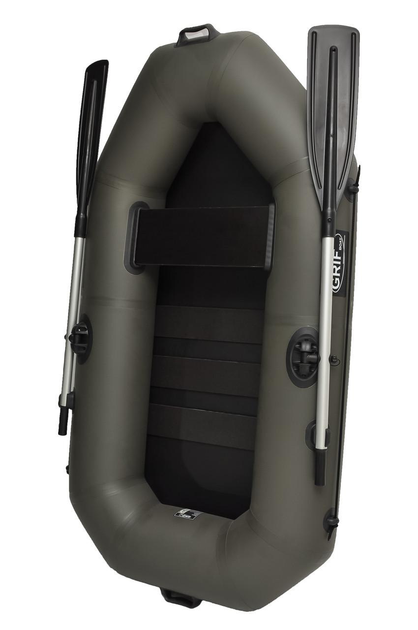 Лодка пвх надувная одноместная Grif boat GA-190
