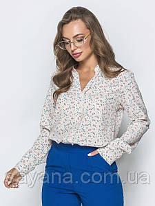 Женская блуза, в расцветках, р-р 48-50. ЛП-8-1-0819(730)