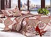 Комплект постельного белья Евро поликоттон TAG XHY1907
