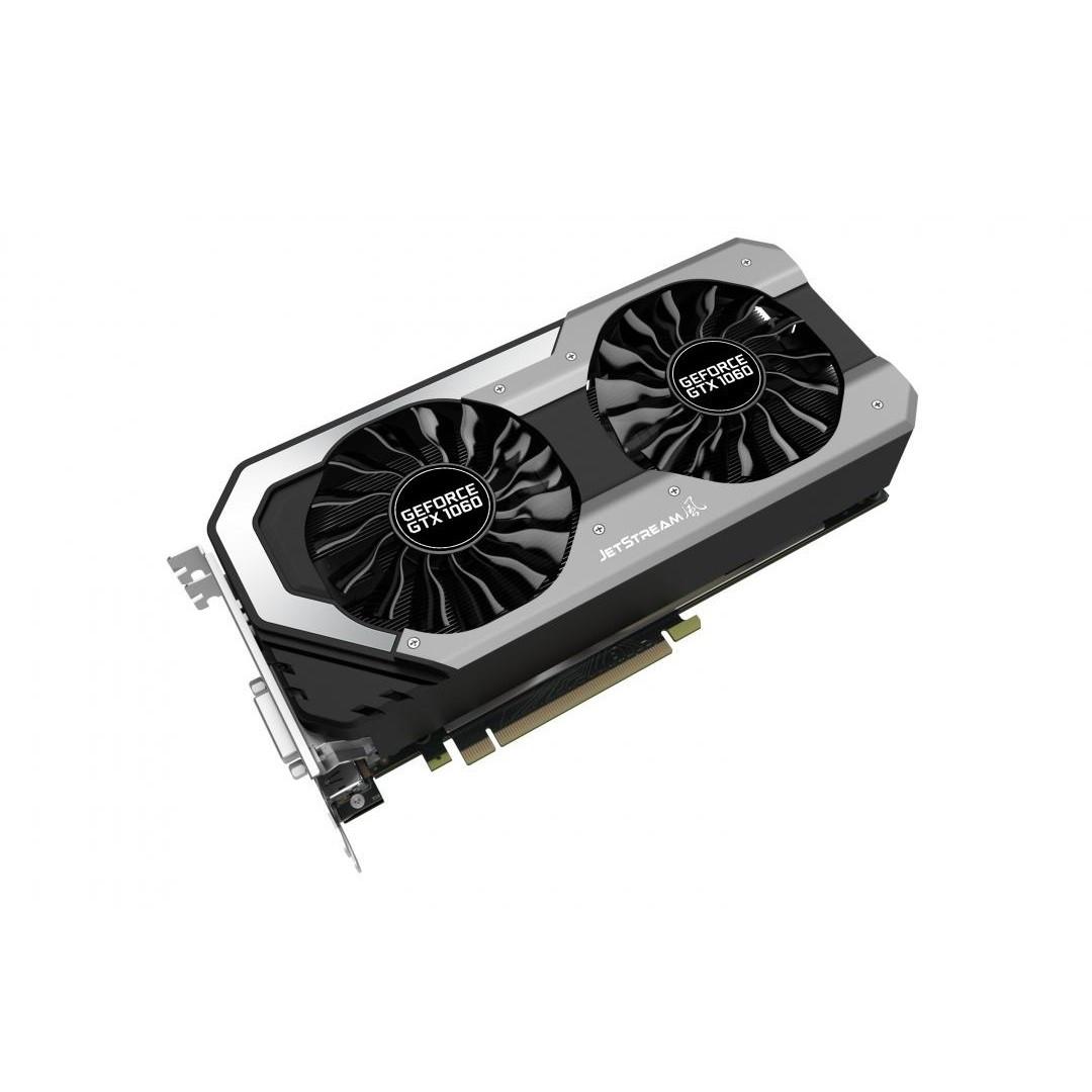 """Видеокарта Palit GeForce GTX 1060 JetStream 3GB (NE51060015J9-1060J) """"Over-Stock"""" Б/У"""