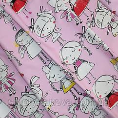 Декор девочки розовый