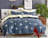 Полуторный комплект постельного белья хлопок 100% ранфорс R7416