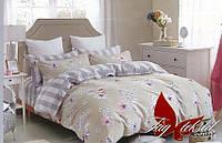 Полуторный комплект постельного белья хлопок 100% ранфорс R3003