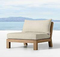 Кресло в стиле лофт с гнутой спинкой