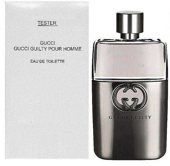 Тестер мужской Gucci Guilty Pour Homme, 90 мл